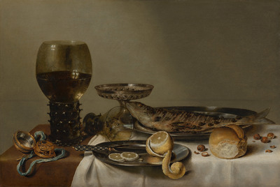 Still Life with a Roemer and Watch | Willem Claesz Heda