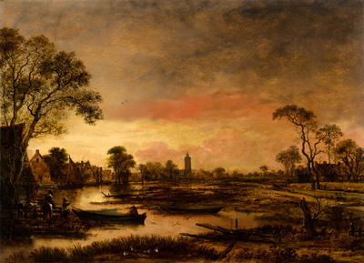 Image from object titled River Landscape