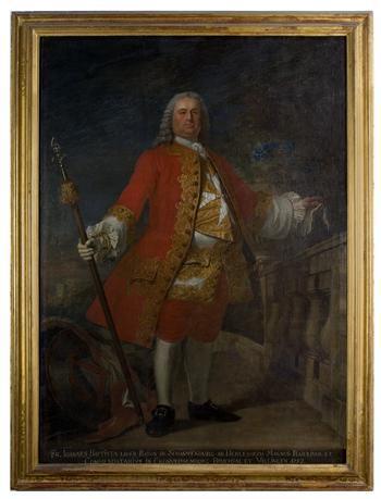 Portrait of Bailiff Johann von Schauwenburg