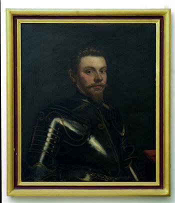 Portrait of Man in Armour