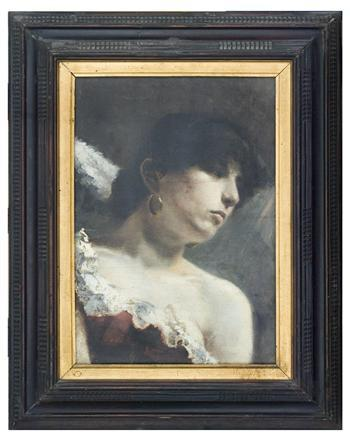 Portrait of a Neapolitan Woman