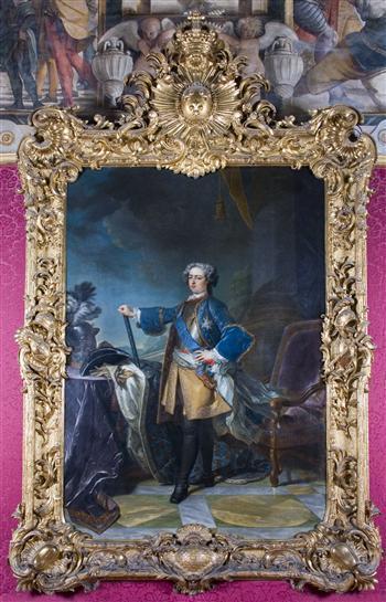 Portrait of King Louis XV