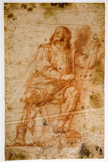 Image from object titled Drawing of a Cavaliere di Malta