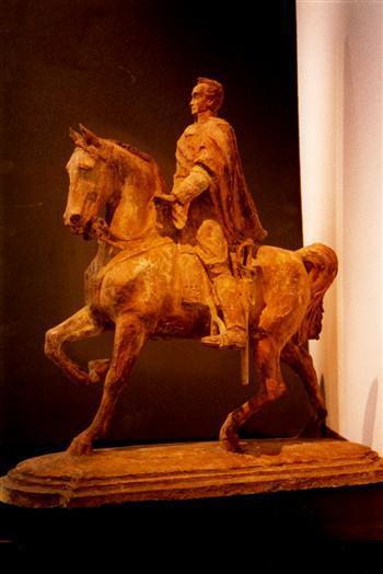 Equestrian statue to general Simon Bolivar: Scale Model (1929)
