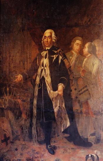 Portrait of Grand Master Emmanuel de Rohan Polduc