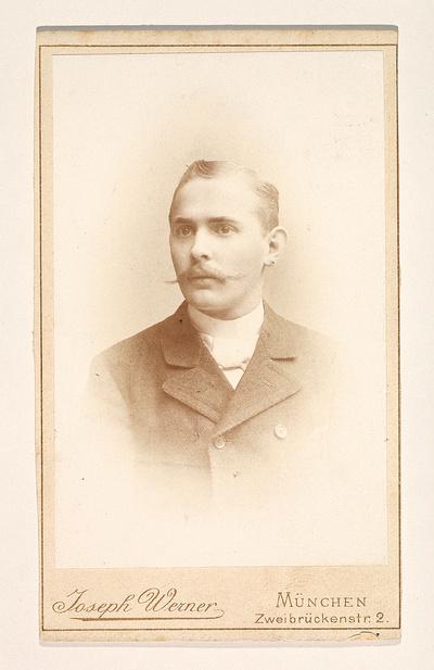 Porträt Fritz Bierhals