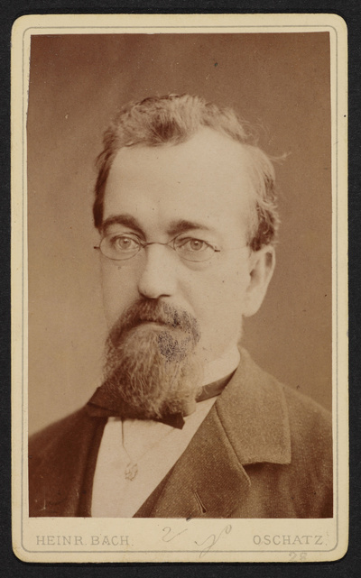 Porträt Karl Gotthelf May
