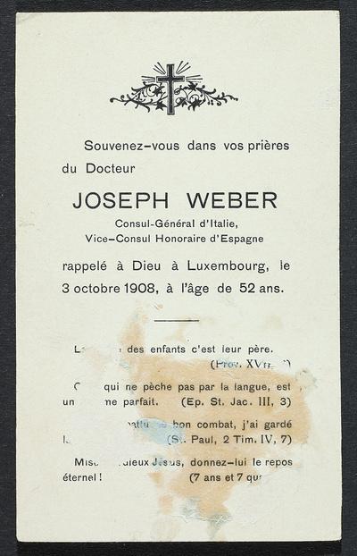 Image from object titled Porträt Franz-Joseph Weber