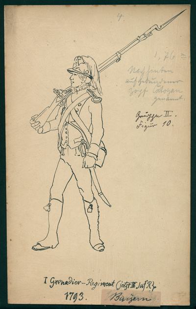 Image from object titled Bayern: Korporal des Grenadier-Leib-Regiments