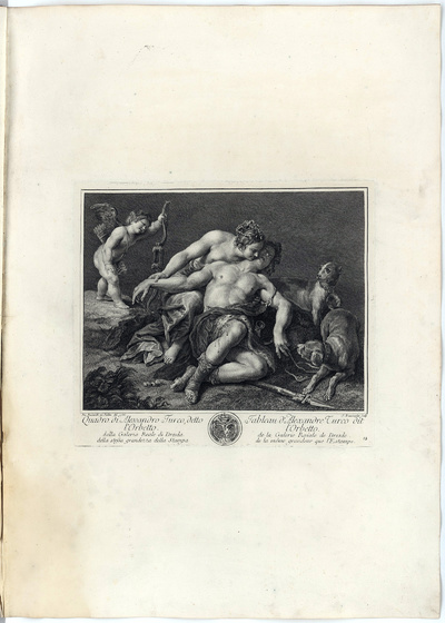 Image from object titled Venus und Adonis