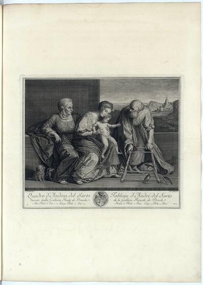 Die Heilige Anna Selbdritt und Joseph