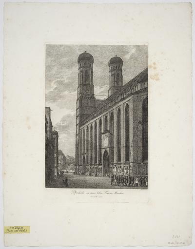Ansichten von München und Umgebung, Radierung, 1813