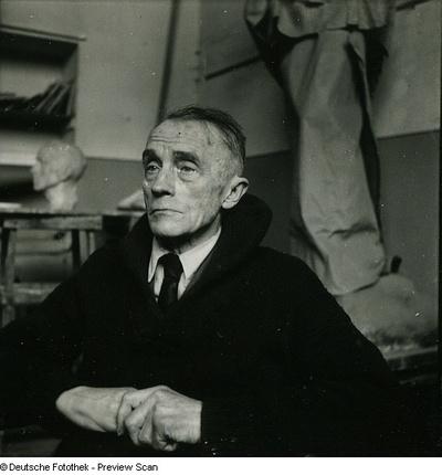 Portraitserie Richard Scheibe
