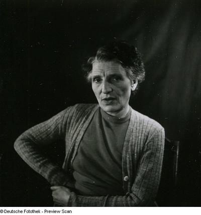 Portraitserie Renée Sintenis
