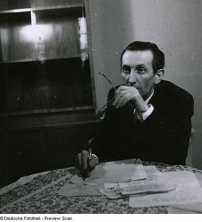 Portraitserie Walter Mehring