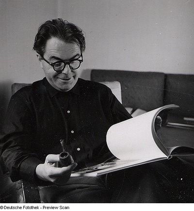 Image from object titled Portraitserie Max Frisch