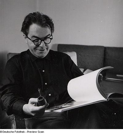 Portraitserie Max Frisch
