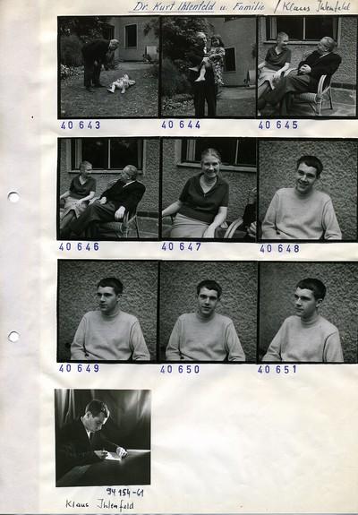 Portraitserie Klaus Ihlenfeld + Portraitserie Kurt Ihlenfeld