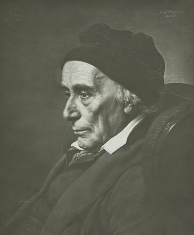 Porträt David Friedländer (erster jüdischer Stadtrat Berlins)