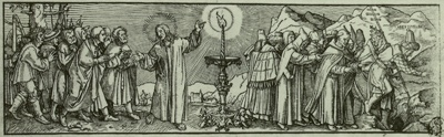 Jesus Christus Und Der Papst Diesen Plato Und Aristoteles
