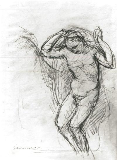 Je mehr das Leben flieht, Illustration zu Sonetten Petrarcas