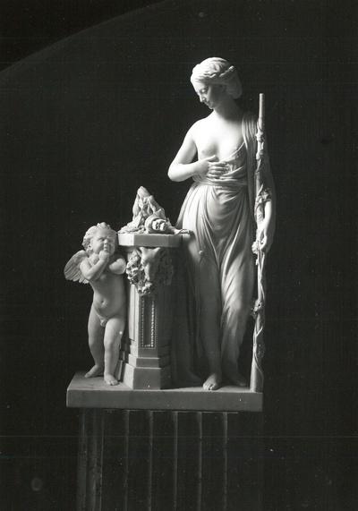 Venus und Armor (Amors Waffen werden auf dem Altar der Freundschaft verbrannt)