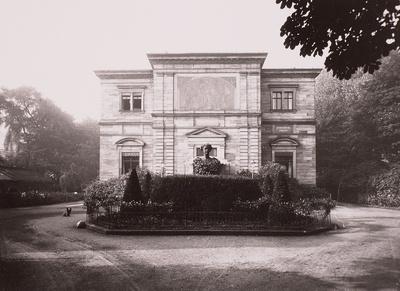 Haus Wahnfried, Wohn- und Arbeitsstätte von Richard Wagner ab 28. April 1874