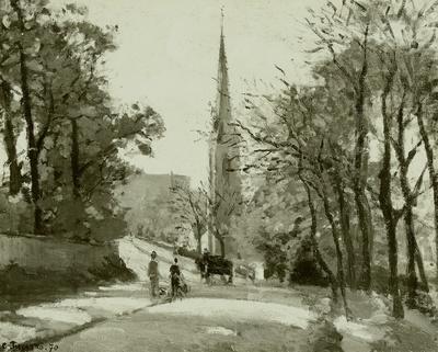 Dorfkirche bei Paris