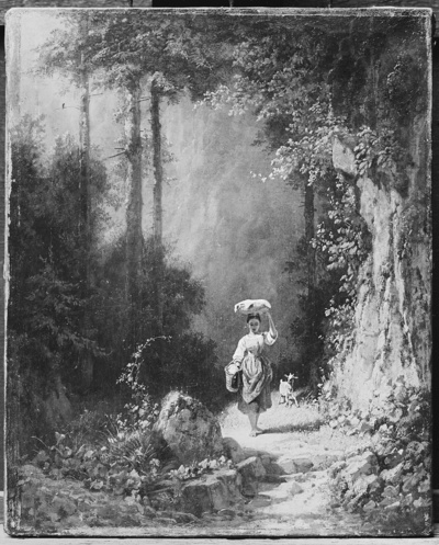 Mädchen im Walde