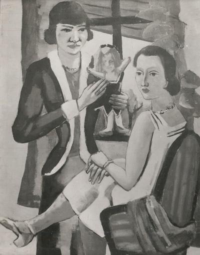 Zwei Frauen am Fenster
