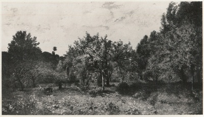 Le verges, Französischer Obstgarten zur Erntezeit