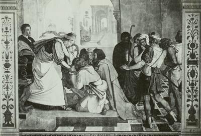 Acht Wandgemälde aus der Casa Bartholdy (Zuccari) in Rom