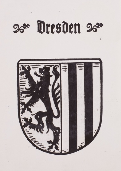 Stadtwappen Dresden