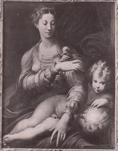 Die Madonna mit der Rose