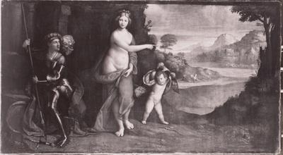 Mars und Venus vor Troja