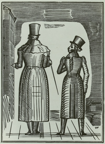 Illustration zu Puschkin: Das Häuschen in Kolonna