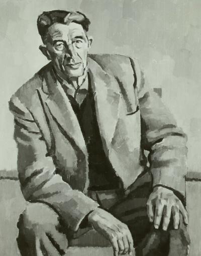 Parteiveteran Alfred Friedland