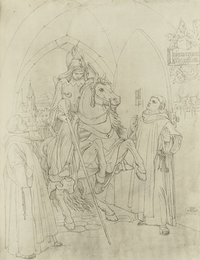 Johannes von Erfurt und der Ritter