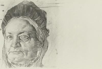 Bildnis seiner Mutter