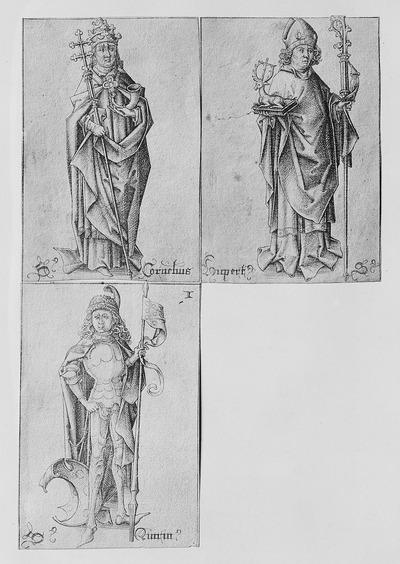 Drei Herzöge: Cornelius, Hubertus, Quirinus (Antonius fehlt)