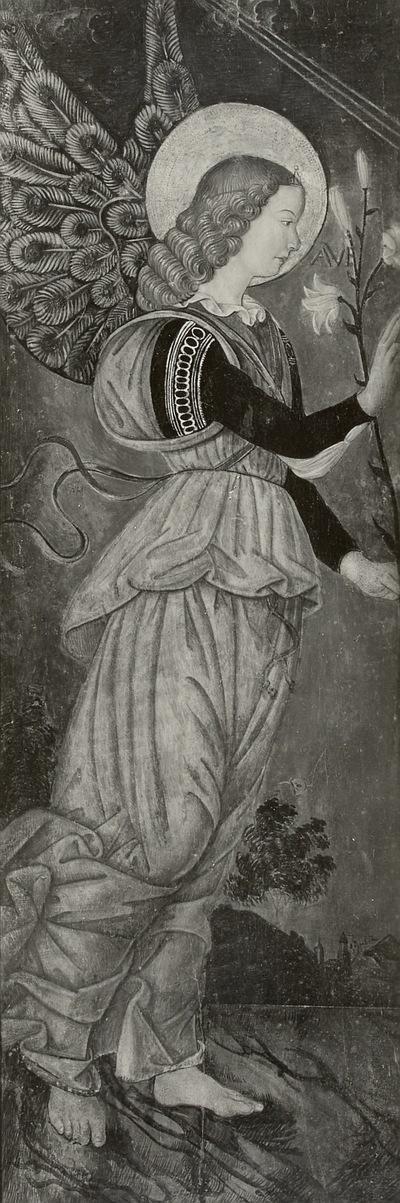 Teil eines Altarwerkes: Der Engel der Verkündigung