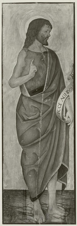 Teilstück eines Altarwerkes: Johannes der Täufer