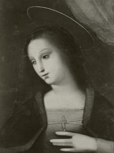Verkündigung an Maria & Brustbild der Maria