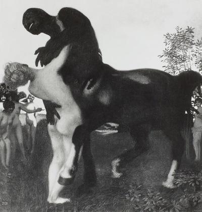 Scherzender Kentaur