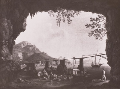 Grotte bei Amalfi