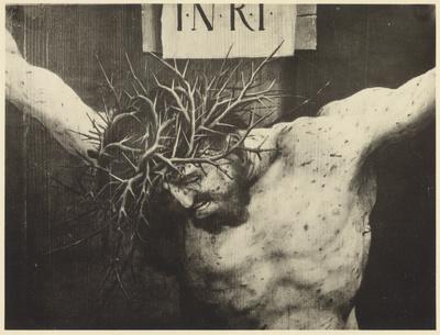 Zwei Tafeln eines Kreuzaltars