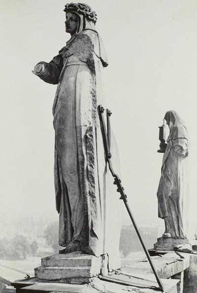 Heilige Magdalena de Pazzi und Heilige Clara