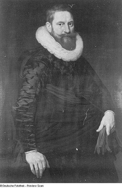 Bildnis eines rotbärtigen Herren