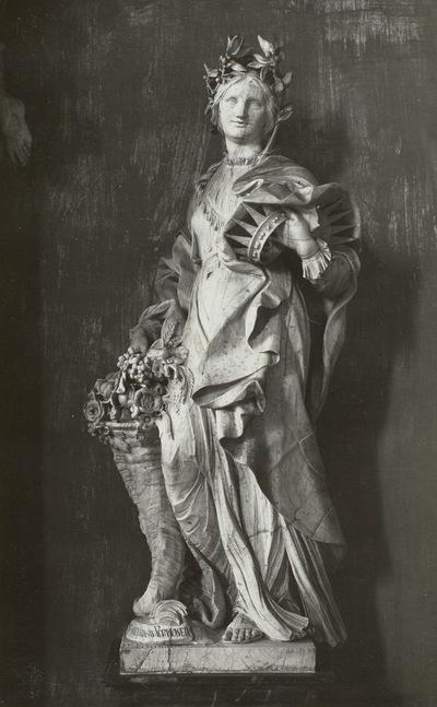 Schwesterngruft, Grabmal der Kurfürstinnen Anna Sophie von Sachsen (gest. 1711) und Wilhelmine von der Pfalz (gest. 1706)