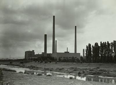 Image from object titled VEB Spinnstoffwerk Glauchau, Ansicht, 1953